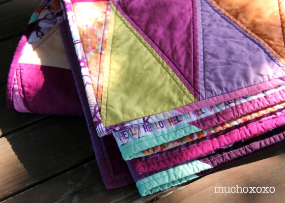 radiant orchid quilt