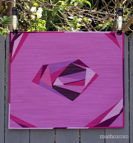 radiant gem quilt front