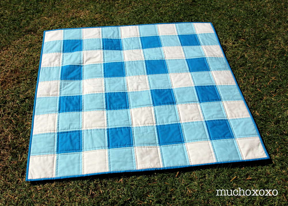 last friday pin finished it gingham i finish saturday to my quilt evening up welcome