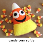 Candy Corn Softie Pattern