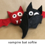 Vampire Bat Softie Pattern