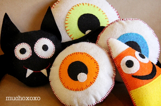halloween felt softies